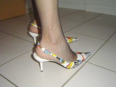DSC05436hb (rina_cd) Tags: shoes cd fishnet heels slings