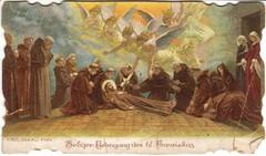 Tod des hl. Franziskus von Assisi