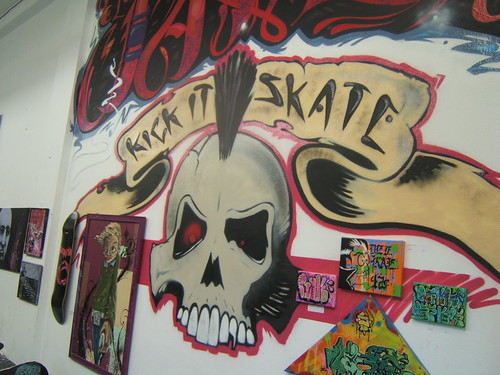 Kick It Skate Interior