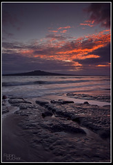First light on Rangitoto
