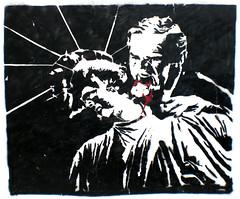 Bush & the Liberty (Smeerch) Tags: presidente usa streetart stencils art statue lady ego neck liberty george bush stencil arte unitedstates georgewbush president georgebush unitedstatesofamerica bat ba statueofliberty statua bt puglia bari andria necks libertà apulia collo libertystatue signora artedistrada statuadellalibertà viabologna soggett