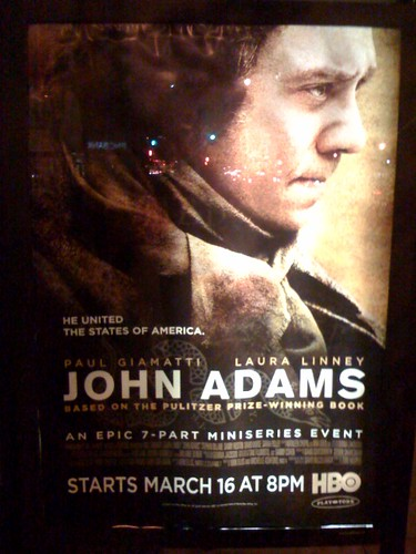 Movie ad seen on a DC bus stop