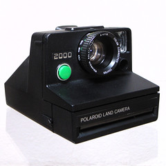 Polaroid 2000 Land Camera by So gesehen., on Flickr