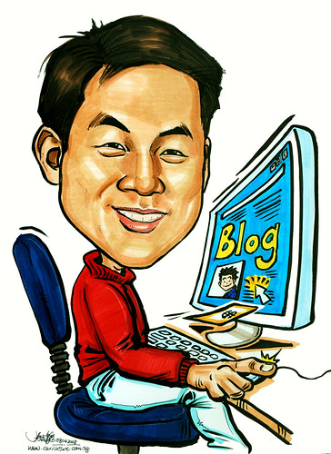 Caricature Wealth Magazine Blog Nuffnang