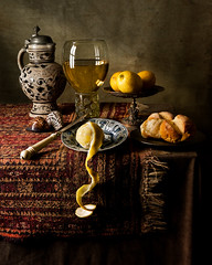 Still Life after Willem Kalf 2 (kevsyd) Tags: shells persian lemon bravo krug roemer tazza westerwald kraak artisticexpression kevinbest