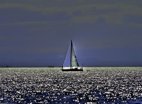 sailing across the ocean blue by eyesplash  Mikul.