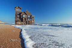 Oceanfront Property (pilz8) Tags: ocean sea beach coast cottage atlantic foam outerbanks obx pilz8 limagecolor