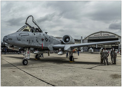 Fairchild A-10C Thunderbolt II (Francis =Photography=) Tags: fairchilda10thunderboltii usa aviondattaqueausol avion airplane bourget2015 expo salon gatling usaf a10c lebourget france