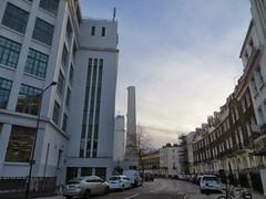 Former cigarette factory (moley75) Tags: london camden morningtoncrescent carrerascigarettefactory blackcat artdeco