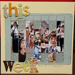 Day 14 - This Week: March 29 - April 4 (Margie S (Xnomads)) Tags: layout badge load mayload09