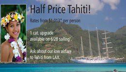tahiti 1/2 price