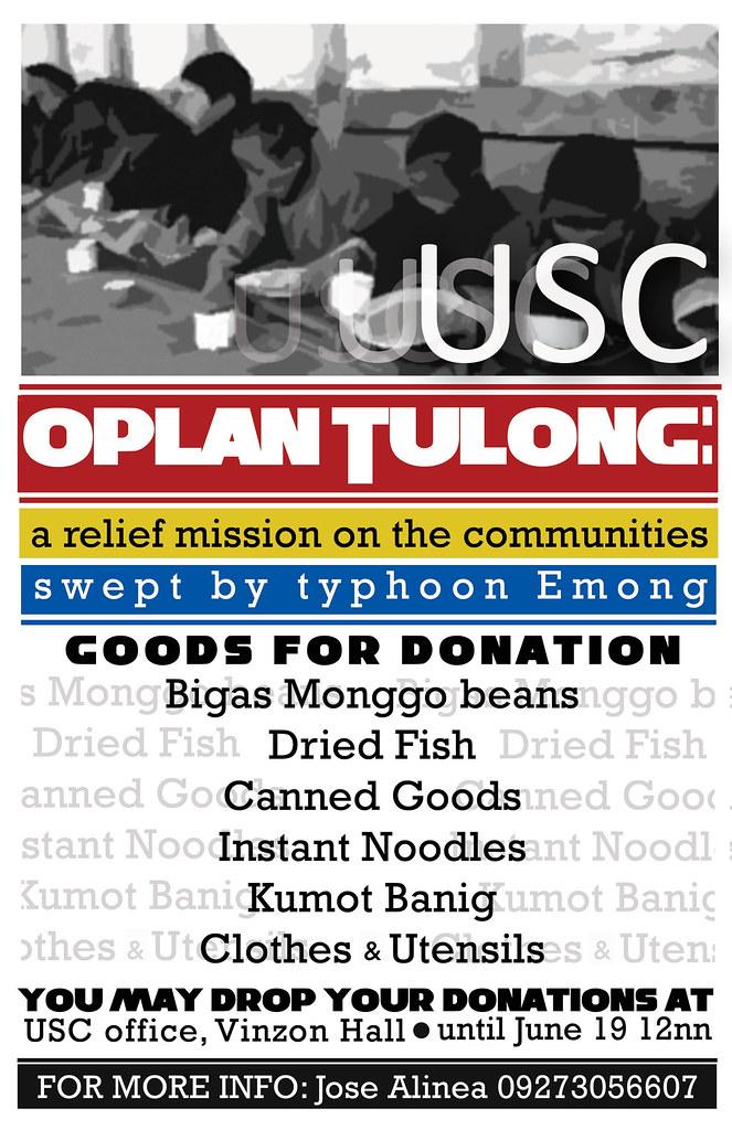 USC Oplan Tulong
