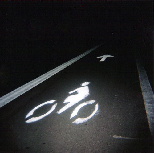 Tempe Bike Lane Holga 31/365