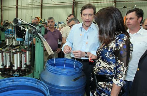 PPedro Passos Coelho visita Fábrica de Redes Euroredes em Boticas