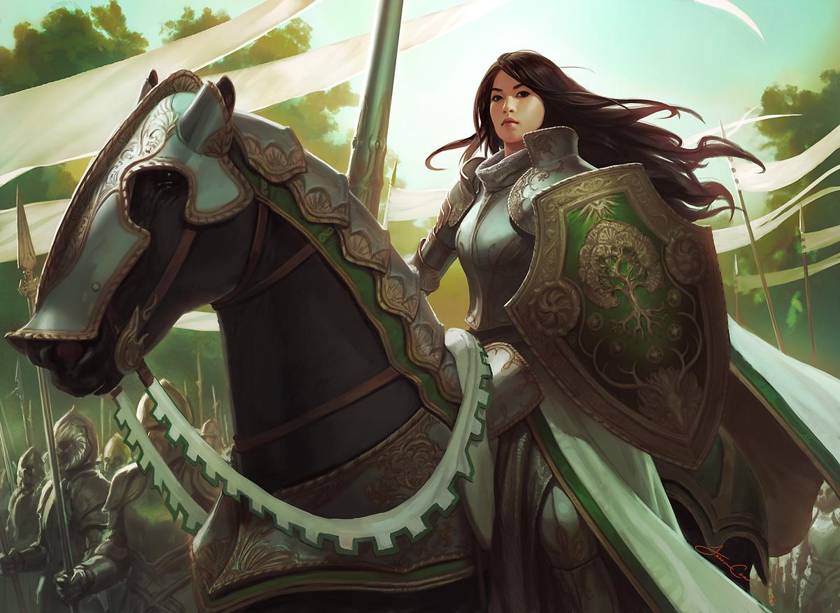 Ilustraciones de Jason Chan (Magic the gathering)