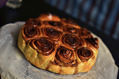 "Spicy ""Brioche"" (bl____d) Tags: sweet snail spices bakery pastry cocoa yeast brioche sweetbun"