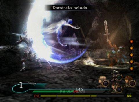 Valkyrie Profile 2 Silmeria - Batalla