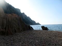 Calanche de Ficaghjola: Punta Ficaghjola à gauche