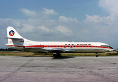 Lan Chile, CC-CCO, SE.210 Caravelle VIR (AlainDurand) Tags: aviation airlines airliners lanchile caravelle sudaviation jetliners commercialaviation se210caravelle se210 worldairlines chileanairlines frenchaircrafts latinamericanairlines airlinesoftheamericas cccco se210caravellevir