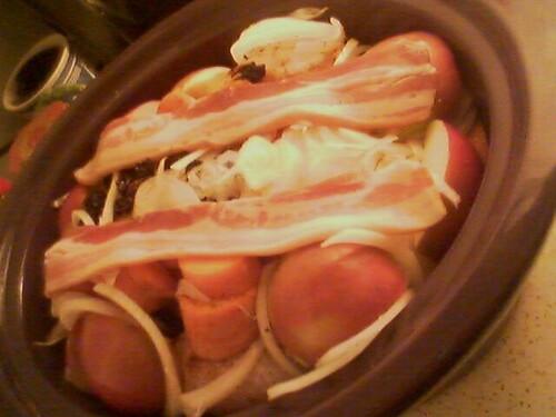 Autumn slow cooker chicken