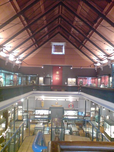 Inside the McLean Museum