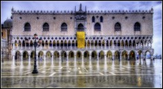Palazzo Ducale in the Rain