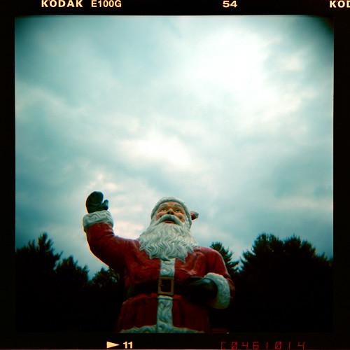 holga-Santa by 416inversed.