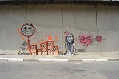(Uze mushroom) Tags: city brasil arte centro nop ict quadrados graffite uze