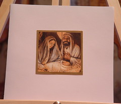 Mary, Joseph, Jesus Card