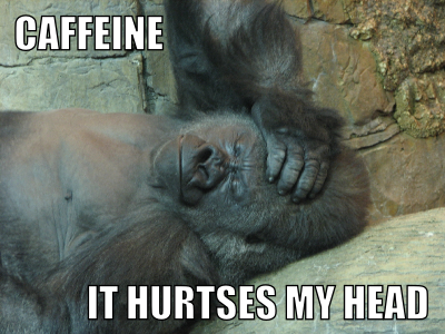 Caffeine - It Hurts My Head