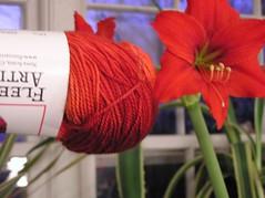 Fleece artist sock yarn