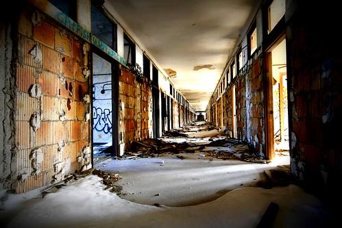 Every hallway looks similar