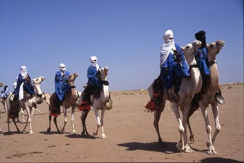 Caravana de Tuaregs
