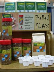 shelled flax