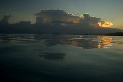DSC09674-1 (LeonidasGR) Tags: sea sunrise seaside cloudy jamaica romantic inthesea sonya100