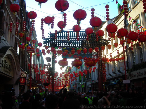 Chinatown decorated