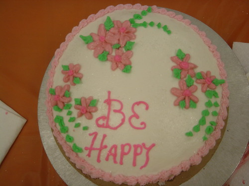 Be Happy cake