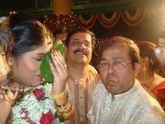 Pide dhora (Kunal and Sumona) Tags: wedding reception nandi kolkata amitabha saheli sinha beglai sodepur