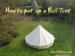 Guide to putting up a tent