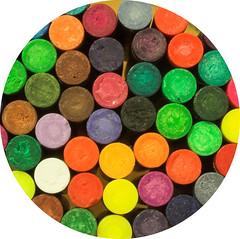 Colour Circles (osh.evans) Tags: colour circles crayon