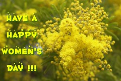 A Happy Women's Day!