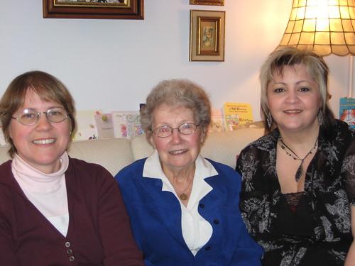 Lucie, Matante Marie-paule & moi 2
