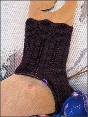 Lenore socks progress
