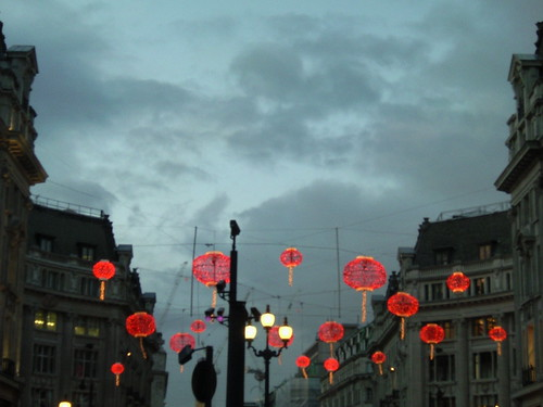 Oxford Circus near dusk 4