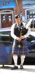 Folly Piper (truemoss1) Tags: kilt pipes police bagpipes follybeach bagpiper charlestonpolicedepartment