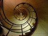 Spiral Staircase up the Arch de Triumph - Paris, France