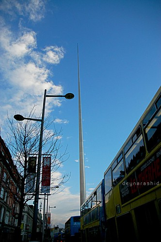 The Spire of Dublin, Ireland by deyna rashid.