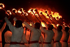 Candel Parade (Iqbal.Khatri) Tags: pakistan beach festival night images parade east explore getty middle karachi rangers sindh seaview mashal explore2 canon400d iqbalkhatri sindhfestival2008 gettyimagespakistanq12012 gettyimagesmiddleeast