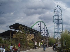 Kingda Ka! WORLD'S tallest fastest coaster