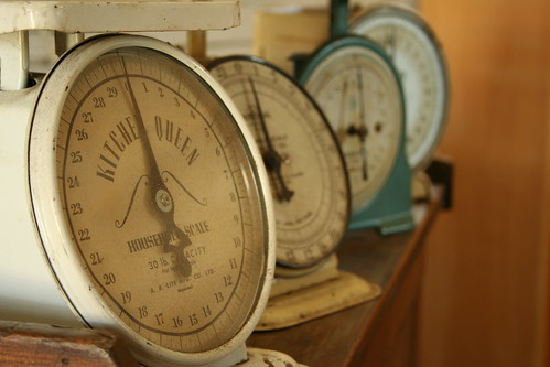 Old-School Kitchen Scales